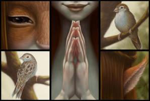 Spirit of the Trees: Details by Nekranea