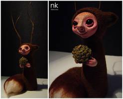 Ikori, little Spirit of the Pines by Nekranea
