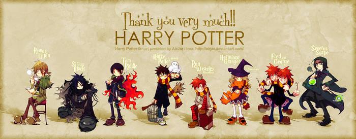 Harry Potter by AirJar