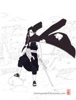 Akatsuki Sasuke by sharingandevil