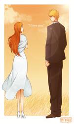 I love you, Orihime by Hiyirii