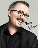Vince Gilligan Potrait by Hiyirii