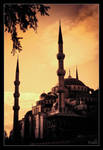 Istanbul sunset by DreamSand