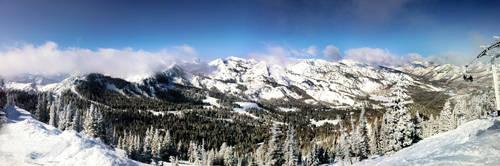 Brighton Mountain, Utah, Panor by Tiller630
