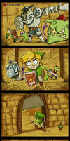 LoZ Picture-Story How did Makar get there?? by CherryIsland