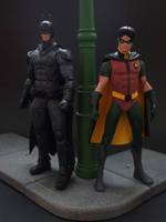 Dynamic Duo - Bruce Wayne and Jason Todd by Jedd-the-Jedi