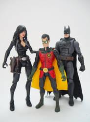Batman, Talia and Damian: Family? by Jedd-the-Jedi