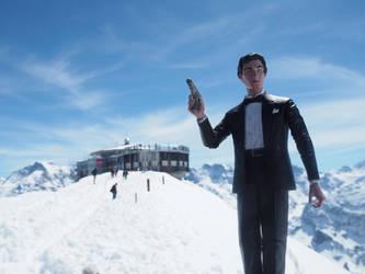 James Bond custom action figure by Jedd-the-Jedi