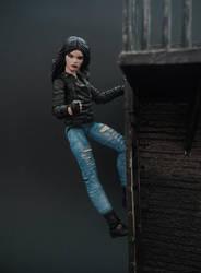 Jessica Jones custom action figure by Jedd-the-Jedi