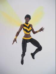 Bumblebee (Karen Beecher) custom action figure by Jedd-the-Jedi