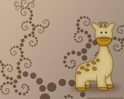 The Little Giraffe by monkey-pants