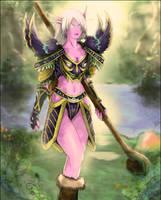 Night Elf Druid by raimy329
