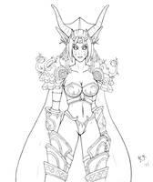 Ysera sketch by raimy329