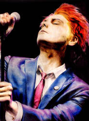 Gerard Way by Reyos-Cheney