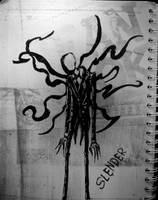 slenderman by Art-Josh