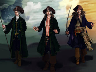 PotC - Jack Sparrow ORIGIN by DraconisCrescendo