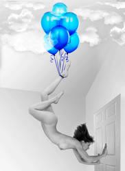 Floating away by LittleCatkin