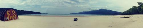 Praia Lopes Mendes. Ilha Grande. RJ by Gabrielb1984