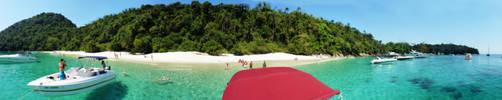 Praia do Dentista. Ilha da Gipoia. Angra dos Reis by Gabrielb1984