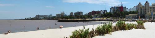 Playa Ramirez, Montevideo. UY by Gabrielb1984