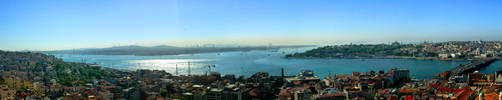 Istanbul Panorama by Gabrielb1984