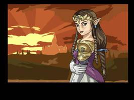 Princess Zelda by simplexcalling