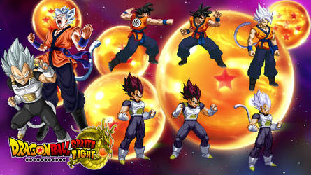 Ultimate Super Saiyan God Sprites by DBSpriteFight