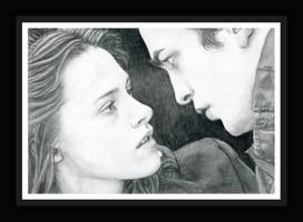 Edward and Bella by TessiohG