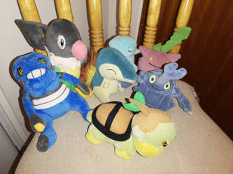 My beanie pokemon plushies by cargirl9