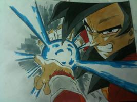 goku ssj4 by ian-zhou2