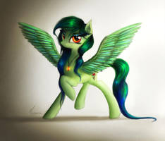 Spirit of Everfree by TheFlyingMagpie