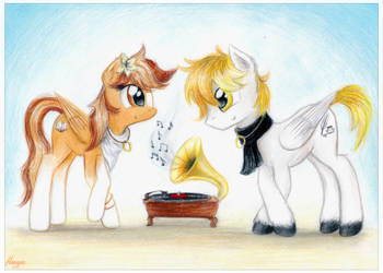 Serenity and White Feather (COMMISSION) by TheFlyingMagpie