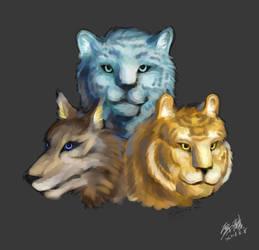 Lupus/Pardus/Tigris by snowkylin