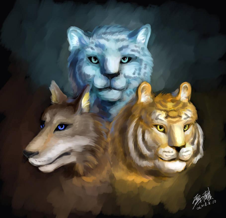 Lupus/Pardus/Tigris (final) by snowkylin