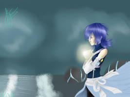 Aqua in the realm of darkness by YumiMyNinja