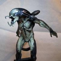 Alien v. Predator - Predalien by schellstudio