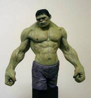 The Incredible Hulk by schellstudio