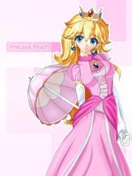 Princess Peach by tansoku102cm