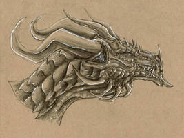 Toned Paper Sketch #3 by DelusionalPuffball