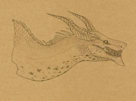 Commission #51 - StudioShadows -sketch- by DelusionalPuffball