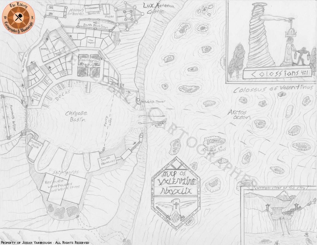 Map of Valentine Navalia by ElderlyCartographer