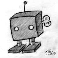 Winduppy The Robot by TehMomo