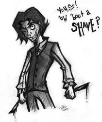 Your Good Friend Sweeney by TehMomo