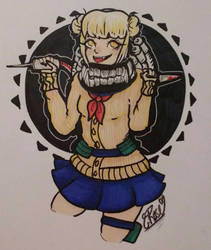 Himiko Toga by WolfReed301