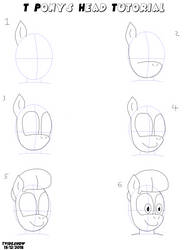 T Pony's Head Tutorial by TVideshow