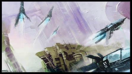 Sky Racers by zilekondic