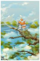 The Sacred Tree - Speedpaint by zilekondic