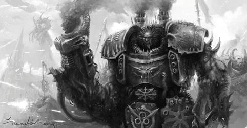 Chaos Centurion by zilekondic
