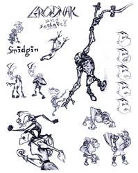 Grodnak + Smidgin, Action Duo by alphatroll