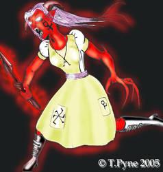 Digital Vampire on the warpath by hbrika